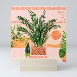 Mediterranean Vacation / Exotic Landscape Mini Art Print