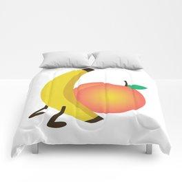 Food Porn Comforters