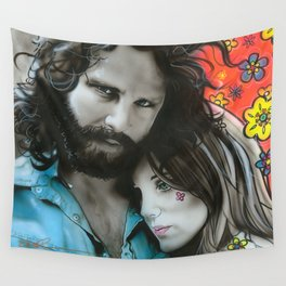 'Mr. Mojo Risin' And Pam' Wall Tapestry
