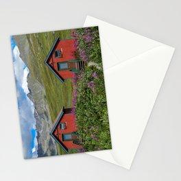 Hatcher_Pass Cabins - Palmer, Alaska Stationery Cards