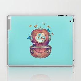 Inner Space - colour option Laptop & iPad Skin