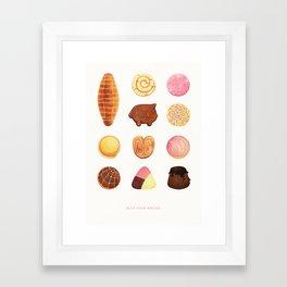 Mexican Bread Framed Art Print