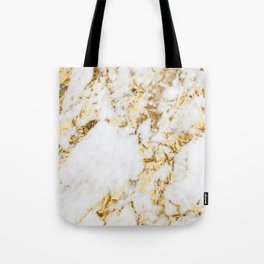 Luxe bright golden Tote Bag