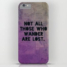 Wander Map Slim Case iPhone 6 Plus