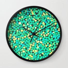 Graphic Green Wall Clock
