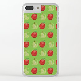Apple A Day Clear iPhone Case