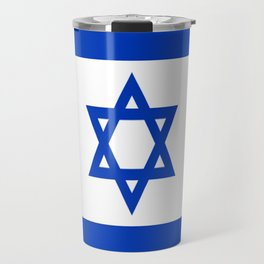 Flag of Israel Travel Mug