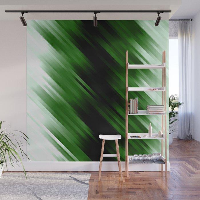 stripes wave pattern 7v1 ppi Wall Mural