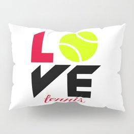 Love tennis Pillow Sham
