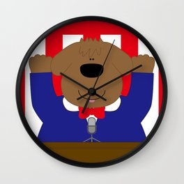 Banzai  Wall Clock