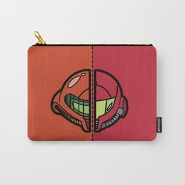 Old & New Samus Aran Carry-All Pouch