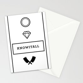 Knowitall Stationery Cards