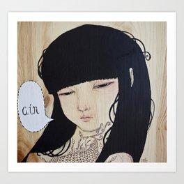 Trifecta - Air Art Print