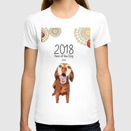 Year of the Dog - Vizsla T-shirt
