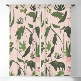 Rose Gilrs Party Blackout Curtain