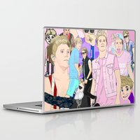 niall Laptop & iPad Skins featuring Niall Collage by Pinkeyyou