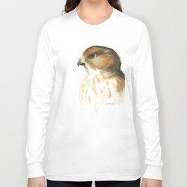 juvenile red-tailed hawk Long Sleeve T-shirt