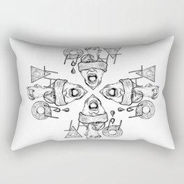 Fight Rectangular Pillow