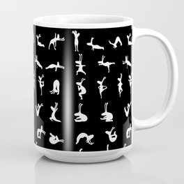 K's Yogi Bunnies B&W Coffee Mug