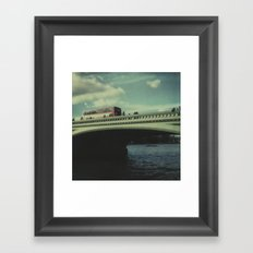 Westminster Bridge Framed Art Print