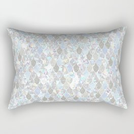 Holographic Mermaid Rectangular Pillow