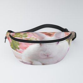 rabbit colorful sitting ears Fanny Pack