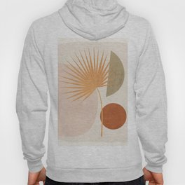 Tropical Leaf- Abstract Art 49a Hoody