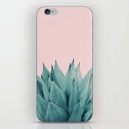 Agave Vibes #5 #tropical #decor #art #society6 iPhone Skin