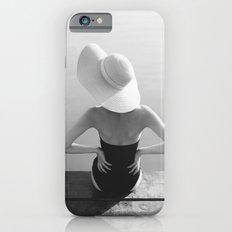 Beach girl iPhone 6s Slim Case