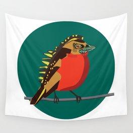 Dino-robin Wall Tapestry