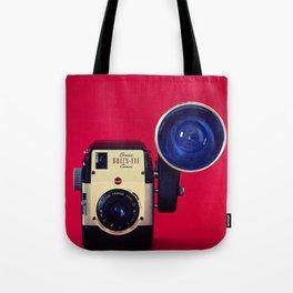 Bull's Eye Camera Tote Bag