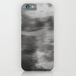 Fusion Abstract Watercolor Blend Pantone Pewter / Fluid Art Ink iPhone Case