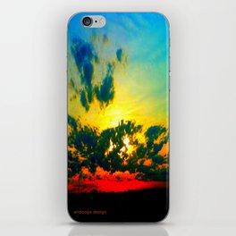 Curdled Clouds iPhone Skin