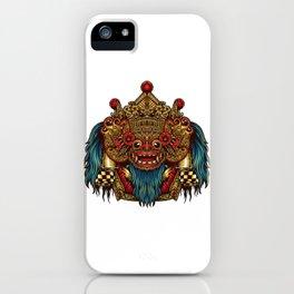 Barong Mask iPhone Case