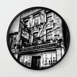 Prospect of  Whitby Pub London 1520 Wall Clock