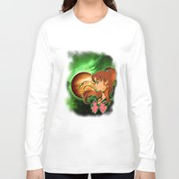 sailor jupiter Long Sleeve T-shirts featuring Sailor Jupiter by Maren Lex