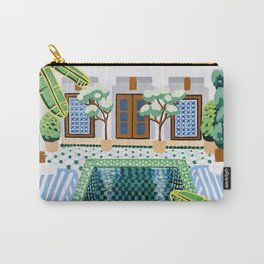 Moroccan Oasis Carry-All Pouch