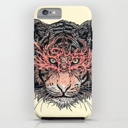 Masked Tiger iPhone Case