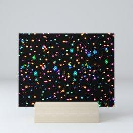 Splatter Intensified Mini Art Print