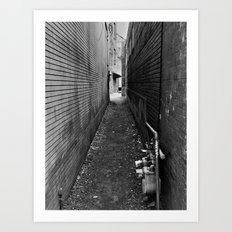 ...any path will take you there... Art Print