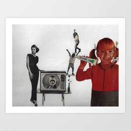 The Kodacrome Colgate Kids Art Print