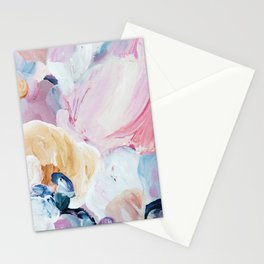 Returning II Abstract Painting  Stationery Cards