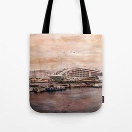 Sunborn Yacht Hotel, Gibraltar Tote Bag