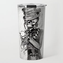 Dead Kitty in a tea cup Travel Mug