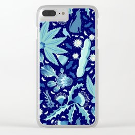 Night Blooms - Midnight Clear iPhone Case