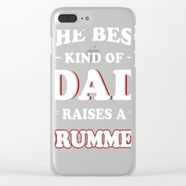The-Best-Kind-Of-Dad-Raises-A-Drummer Clear iPhone Case