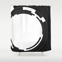 Wrong-Error Posters (After International Typographic Design) VII, 2015 Shower Curtain