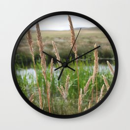 Delicate Breeze Wall Clock