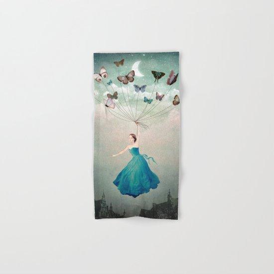 Leaving Wonderland Hand & Bath Towel