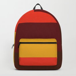 retro color palette Backpack